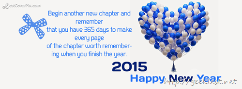Happy New Year Facebook covers 2015 - 6
