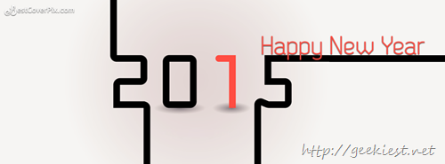 Happy New Year Facebook covers 2015 - 7