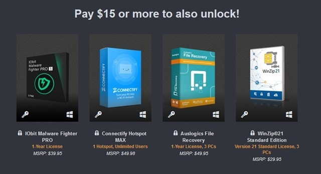 Happy PC Software Bundle Humble 3