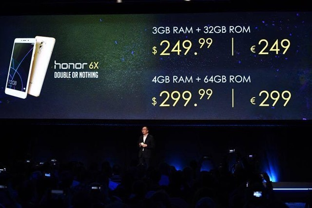 Honor 6x price