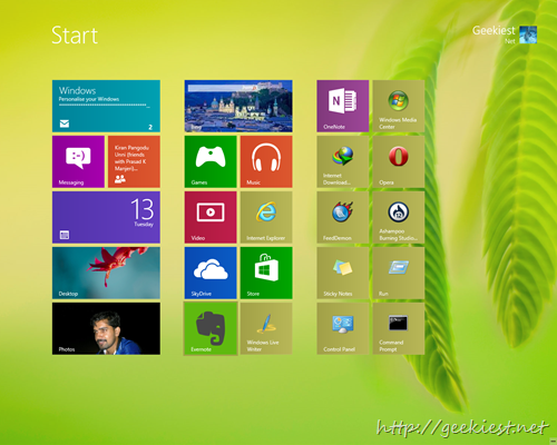 How to Change the Windows 8 Start Screen Background
