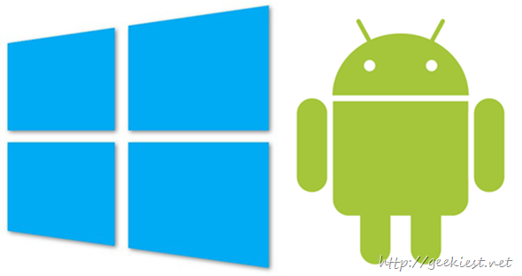 How to access a Windows shared folder from Android Device