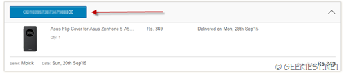 How to get your lost Flipkart invoice again - 2