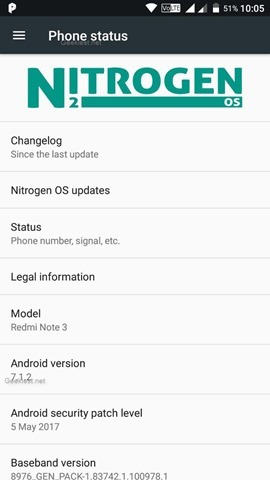 How to install nitrogen os on the redmi note 3