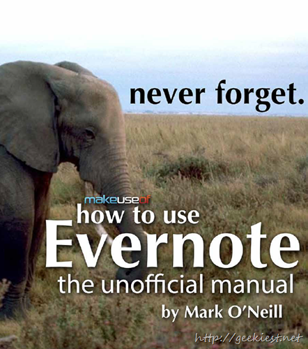 How to use Evernote - Free eBook[4]