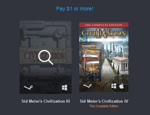 Humble Civilization Bundle