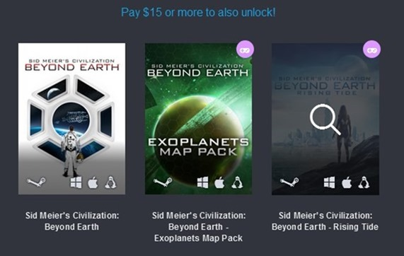 Humble Civilization Bundle 3