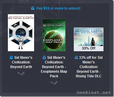 Humble Firaxis Bundle 3rd tier