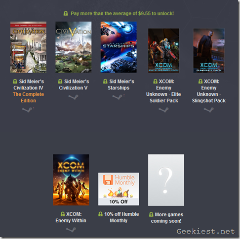 Humble Firaxis Bundle BTA