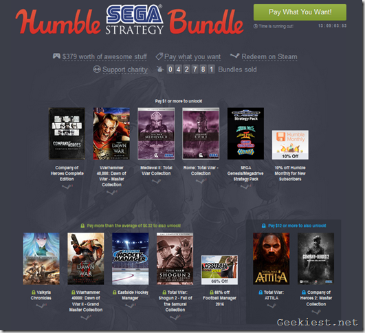 Humble Sega Bundle