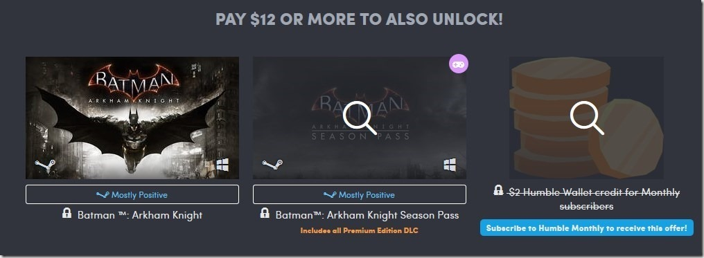Humble Wb Games Classic Bundle Gets You Shadow Of Mordor Batman Arkham Origins For 1 Dollar