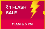 INR 1 flash sale diwali