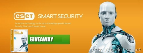 Independence Day Giveaway- Eset Smart Security 8
