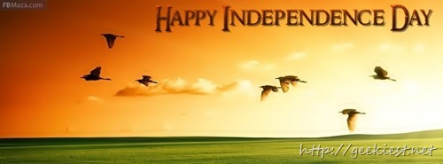 Indian Independence day Facebook cover photos 2