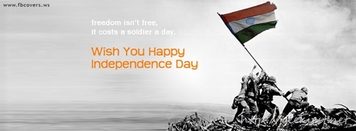 Indian Independence day Facebook cover photos 3