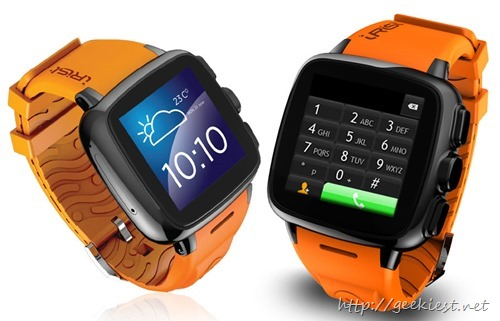 Intex-iRist phone on wrist