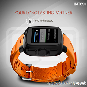 Intex iRist– Android Smart watch