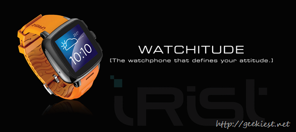 Intex iRist– Android Smart watch from Intex