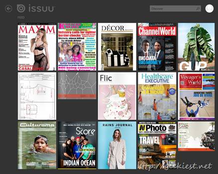 Issuu feed