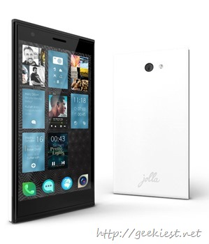 Jolla - Sailfish OS smartphone is available on the market