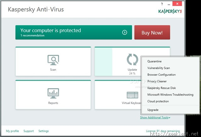 Kaspersky Anti-Virus 2015 Beta