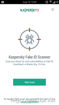 Kaspersky Fake ID Scanner