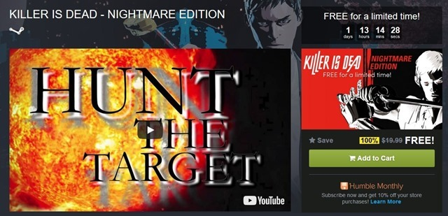 Killer Is Dead - Nightmare Edition free humble store