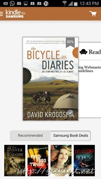 Kindle for Samsung–Get a Free book Every Month