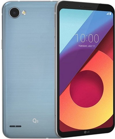 LG Q6 India Ice Platinum