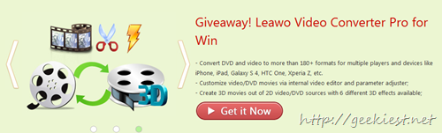 Leawo Offers Video Converter Pro for Windows and Mac