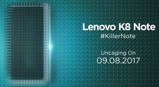 Lenovo K8 Note Android 7.1
