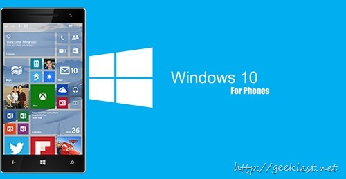 List of Windows phone names to get Windows 10 Technical Preview for phones