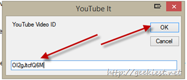 Live Writer Plug-in for embedding YouTube videos more efficiently