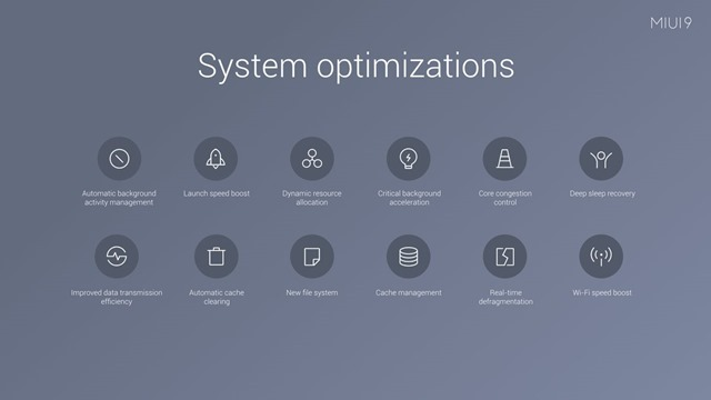 MIUI 9 Optimizations