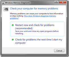 Memory-test-windows-7-Options