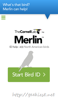Merlin Bird ID for Android is available now