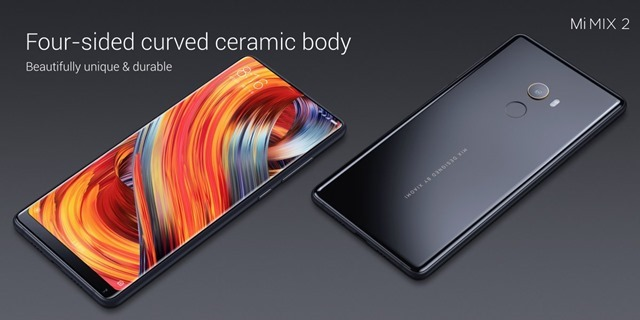 Mi Mix 2 ceramic body