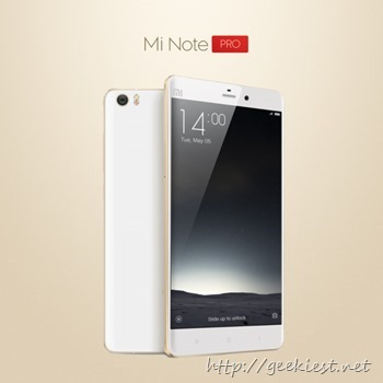 Mi Note Pro with 4GB RAM and 3D Curved Glass
