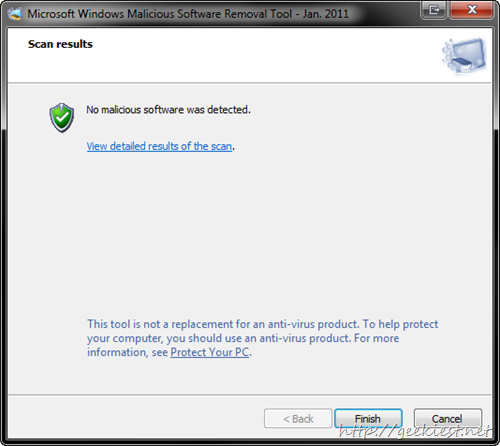 Microsoft Windows Malicious Software Removal