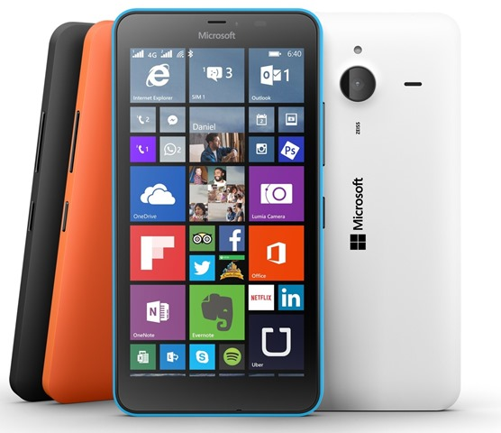 Microsoft Lumia 640 XL Windows Phone