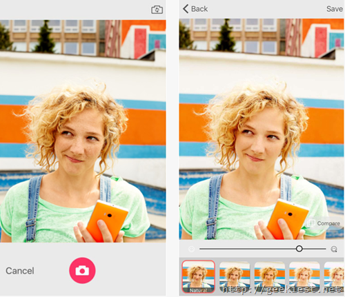Microsoft Selfie for iOS