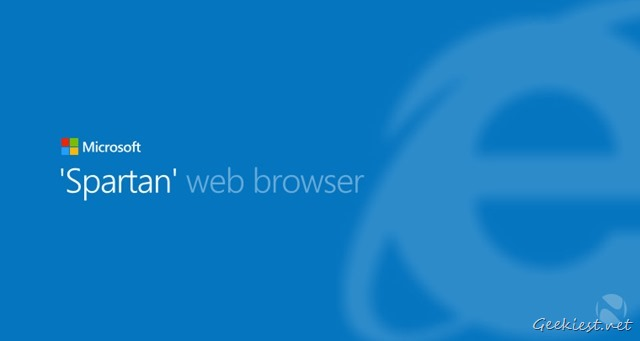 Microsoft Spartan Browser Windows 10