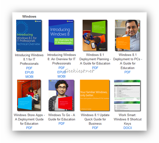 Microsoft eBooks Free