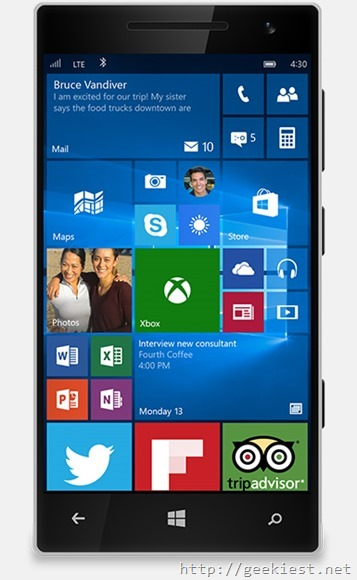 Microsoft released Windows 10 Mobile–How to Upgrade