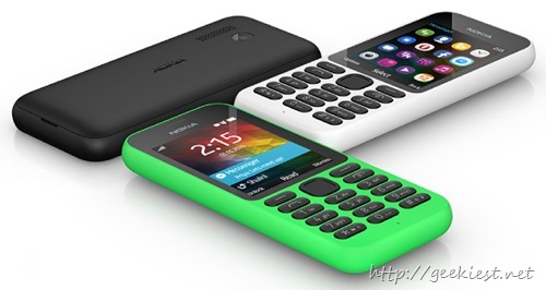 Microsofts most affordable Phone - Nokia 215