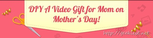 Mothers Day Giveaway - iSkysoft Video Editor and DVD Creator (Windows and Mac)