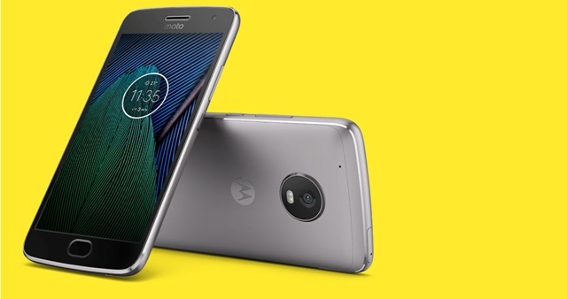 Moto G5 Plus press render 3