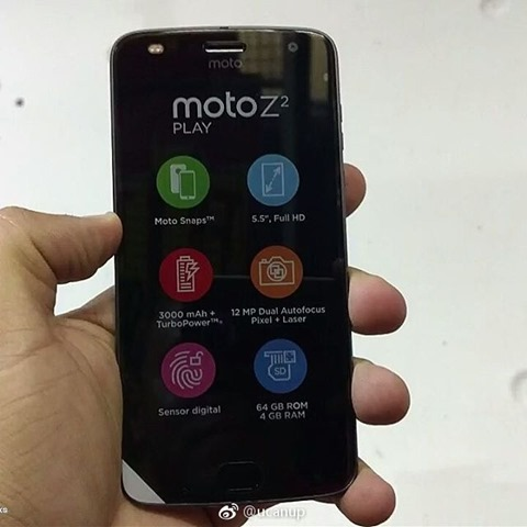 Moto Z2 Play technical Specifications