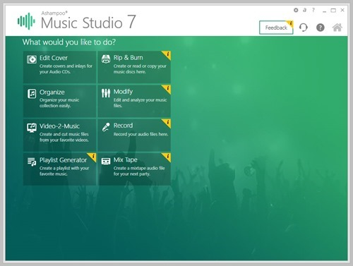Music Studio 7 home page