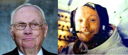 Neil Armstrong, the first man on Moon